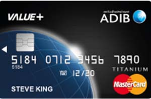 ADIB - Value + Card Credit Card